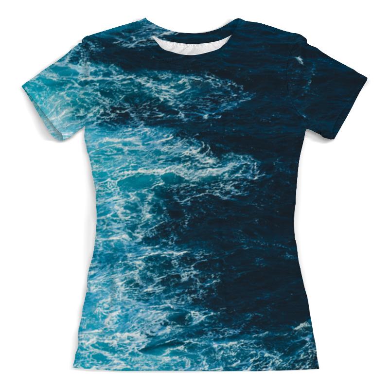 Футболка с полной запечаткой (женская) Printio Sea (море) футболка с полной запечаткой женская printio девушка море от milanna