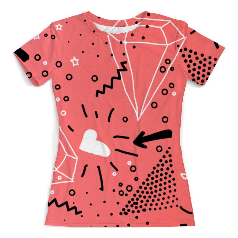 Printio Кристалл футболка с полной запечаткой женская printio розовый кристалл