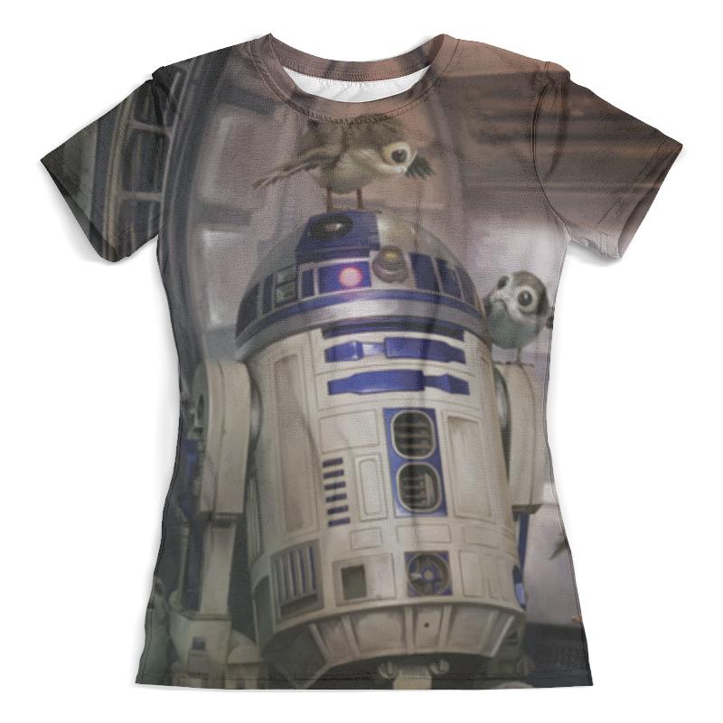 Футболка с полной запечаткой (женская) Printio Звездные войны - r2-d2 футболка с полной запечаткой для девочек printio звездные войны r2 d2