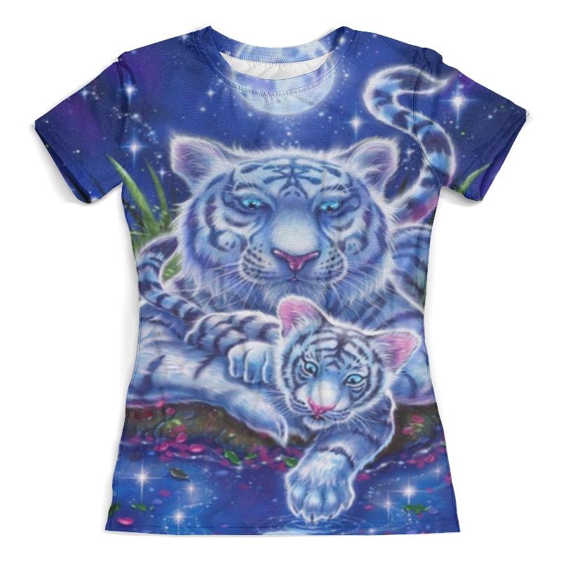 Футболка с полной запечаткой (женская) Printio Львица со львёнком футболка с полной запечаткой женская printio модная львица