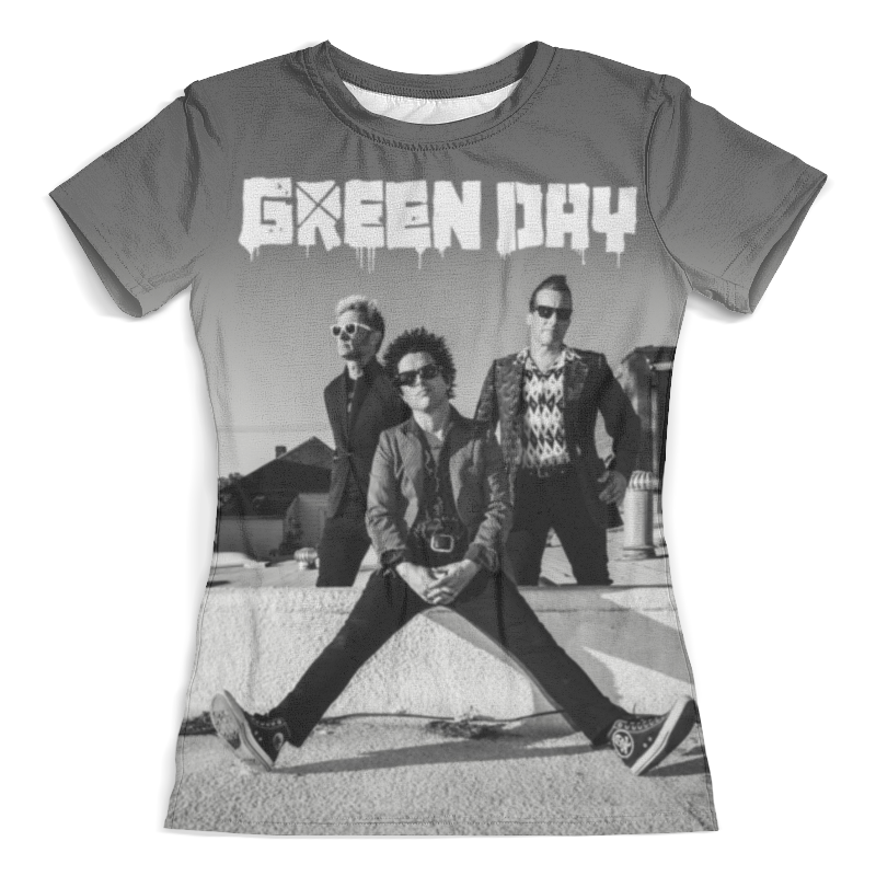 Футболка с полной запечаткой (женская) Printio Green day футболка с полной запечаткой мужская printio green day