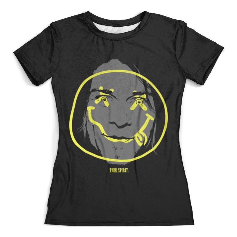 Футболка с полной запечаткой (женская) Printio Курт кобейн футболка с полной запечаткой мужская printio курт кобейн