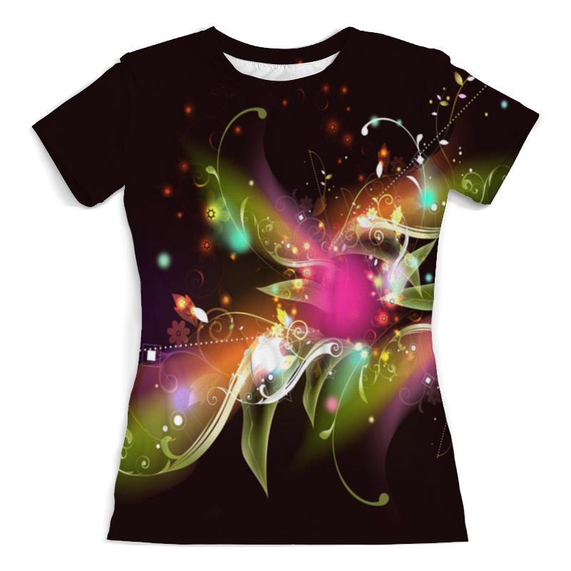 Футболка с полной запечаткой (женская) Printio Цветок футболка с полной запечаткой женская printio ночной городок