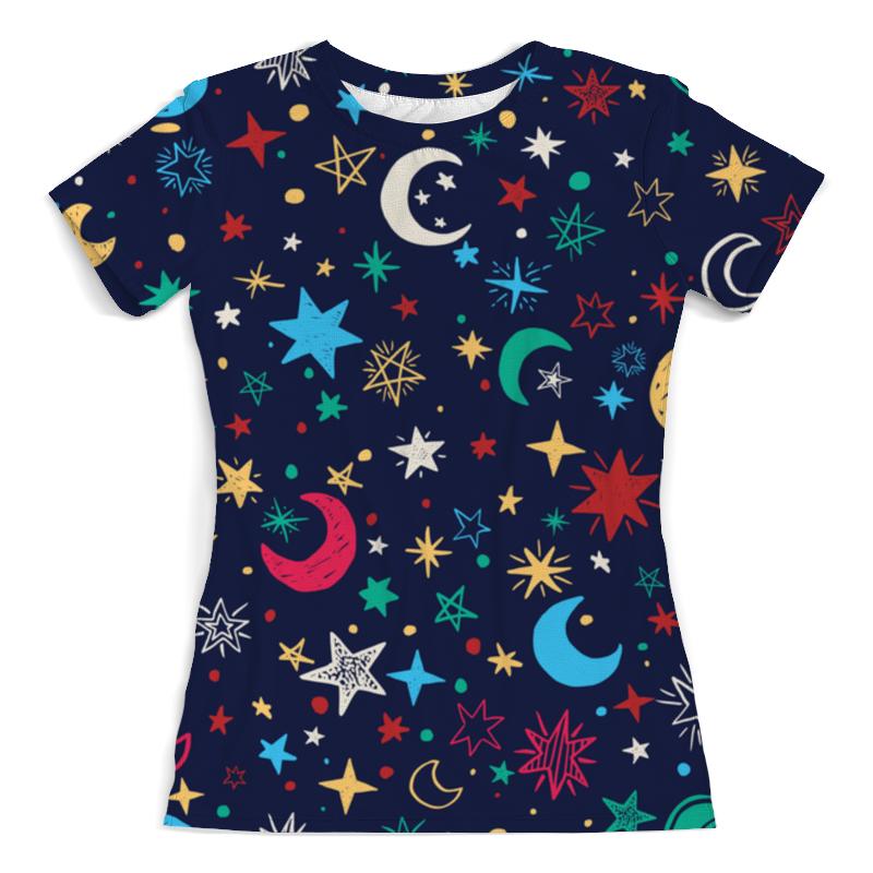 Футболка с полной запечаткой (женская) Printio Звёздное небо свитшот унисекс с полной запечаткой printio звёздное небо