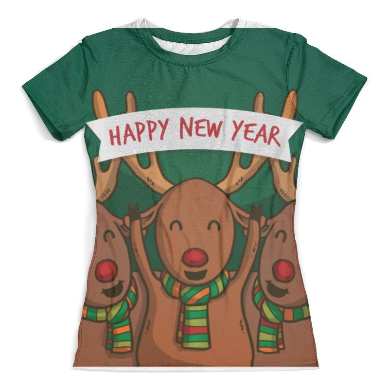 Футболка с полной запечаткой (женская) Printio Happy new year 2016! new original ki0209 warranty for two year