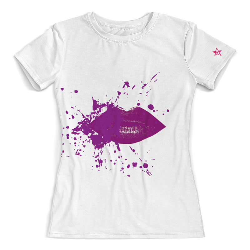 Printio Стиль арт-фэшн color: plum lips футболка с полной запечаткой мужская printio стиль арт фэшн одуванчики