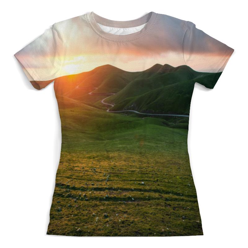 Printio Река в горах футболка с полной запечаткой женская printio крепость в горах