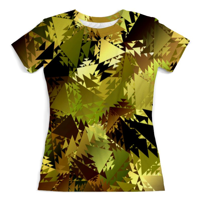 Printio Абстракция хаки футболка хаки с чем носить