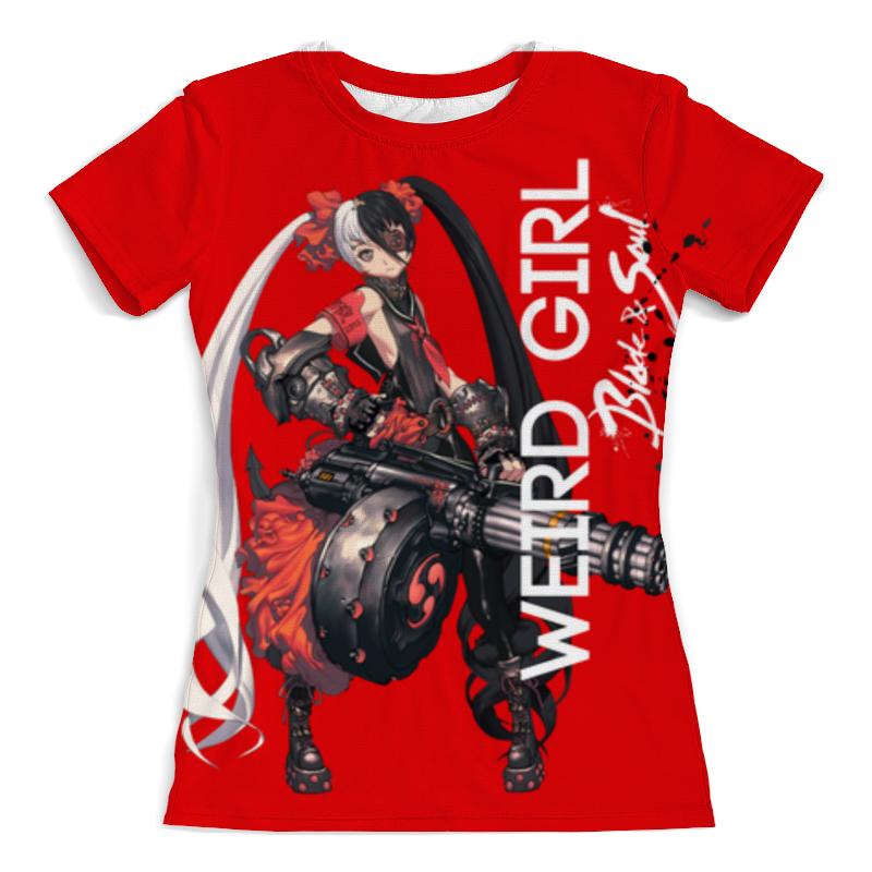Футболка с полной запечаткой (женская) Printio Blade & soul series футболка с полной запечаткой женская printio blade