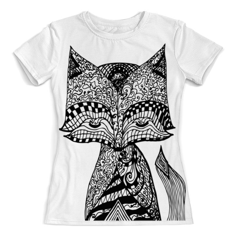 Футболка с полной запечаткой (женская) Printio Animals футболка с полной запечаткой женская printio муза на пегасе одилон редон