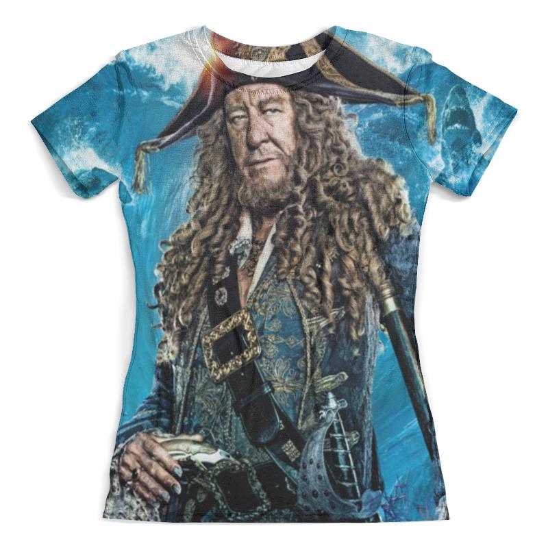 Футболка с полной запечаткой (женская) Printio Пираты карибского моря зверев с пираты знайте русских
