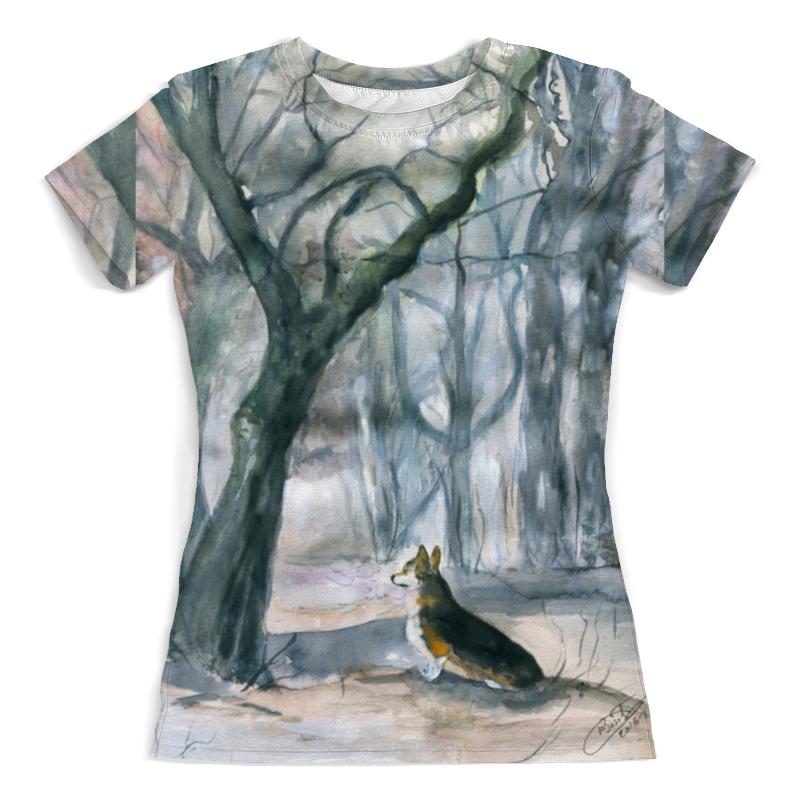 Футболка с полной запечаткой (женская) Printio Волшебный лес футболка с полной запечаткой женская printio pattern