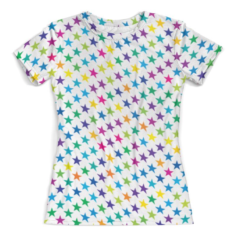 Футболка с полной запечаткой (женская) Printio Star style футболка женская dakine shooting star grey