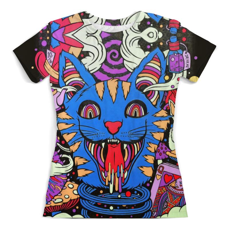 Printio Cat begemot футболка с полной запечаткой женская printio master and margarita begemot