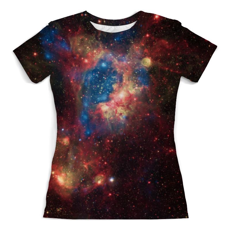 Printio Космос футболка с полной запечаткой женская printio blade