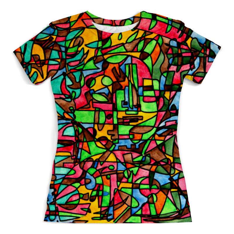 Футболка с полной запечаткой (женская) Printio Mr3d`v---=' футболка с полной запечаткой женская printio battlefield v