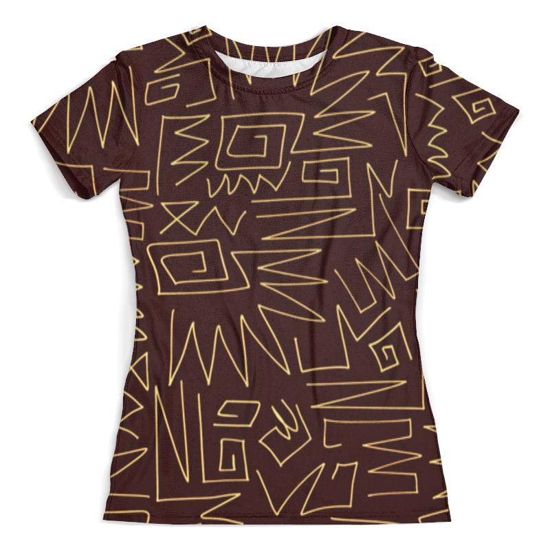 Футболка с полной запечаткой (женская) Printio Afrikan pattern футболка с полной запечаткой женская printio nano pattern
