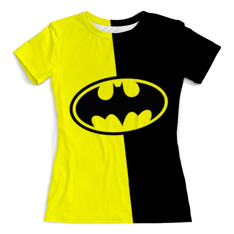 Футболка с полной запечаткой (женская) Printio Batman (бэтмен) футболка с полной запечаткой для девочек printio batman x joker бэтмен