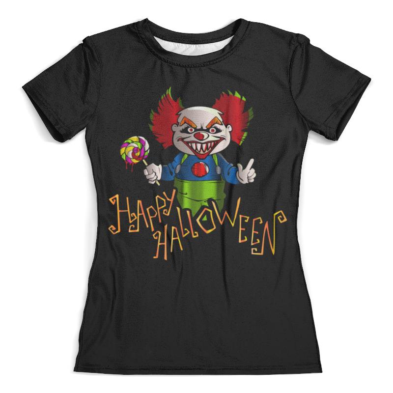Футболка с полной запечаткой (женская) Printio Клоун футболка с полной запечаткой для мальчиков printio клоун