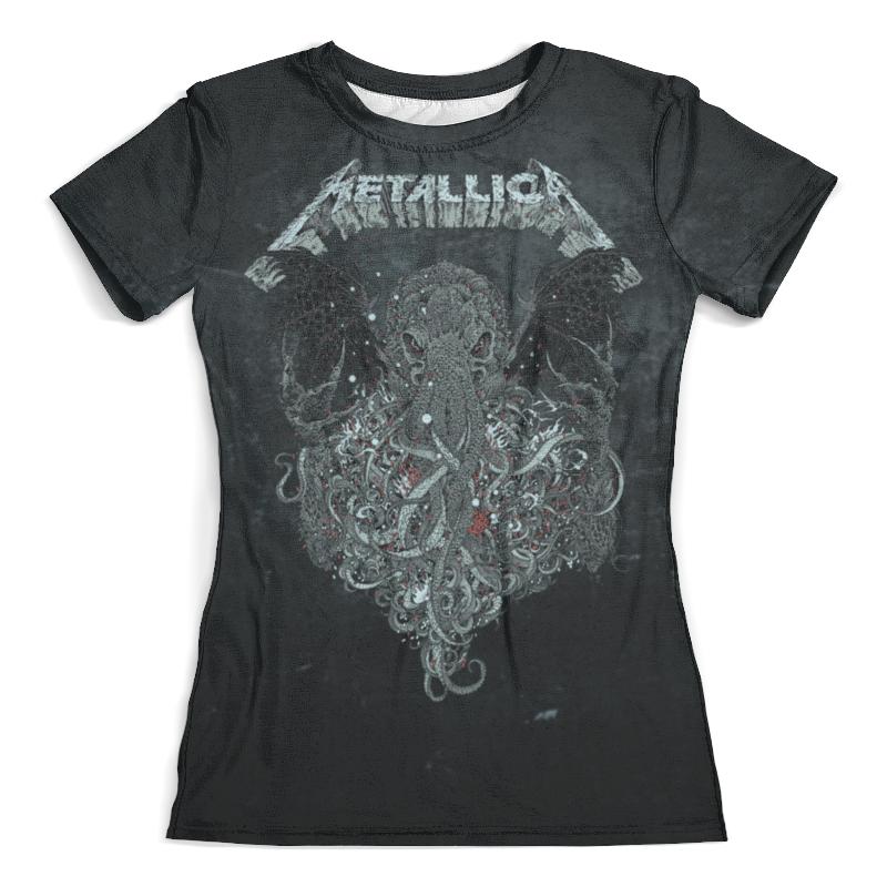 Футболка с полной запечаткой (женская) Printio Metallica футболка с полной запечаткой женская printio metallica band