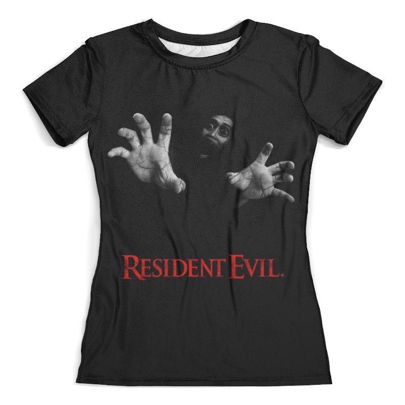 Футболка с полной запечаткой (женская) Printio Resident evil