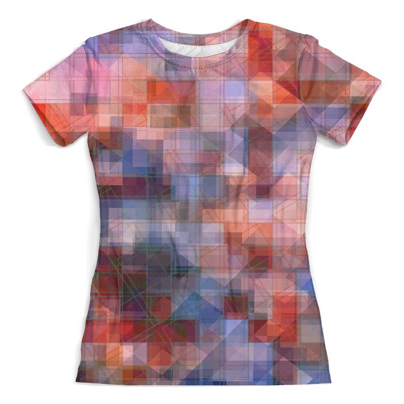 Футболка с полной запечаткой (женская) Printio Пиксель-арт. разноцветный паттерн волченко ю с пиксель арт