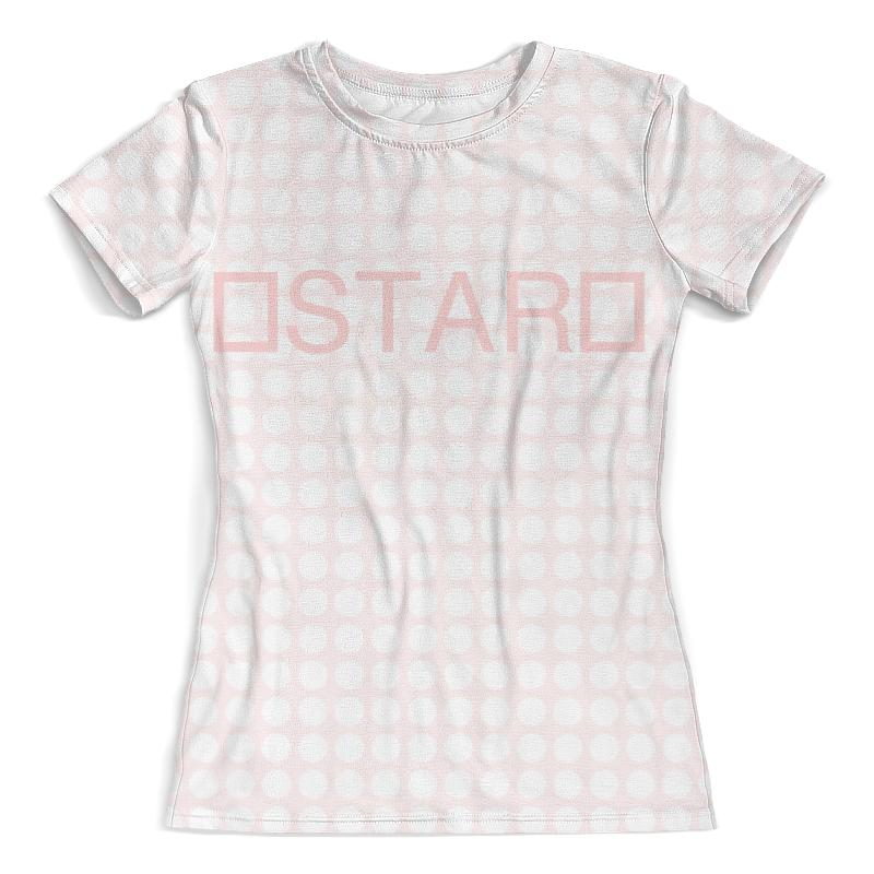 Футболка с полной запечаткой (женская) Printio Stars(pf) футболка с полной запечаткой женская printio colorfull triangle