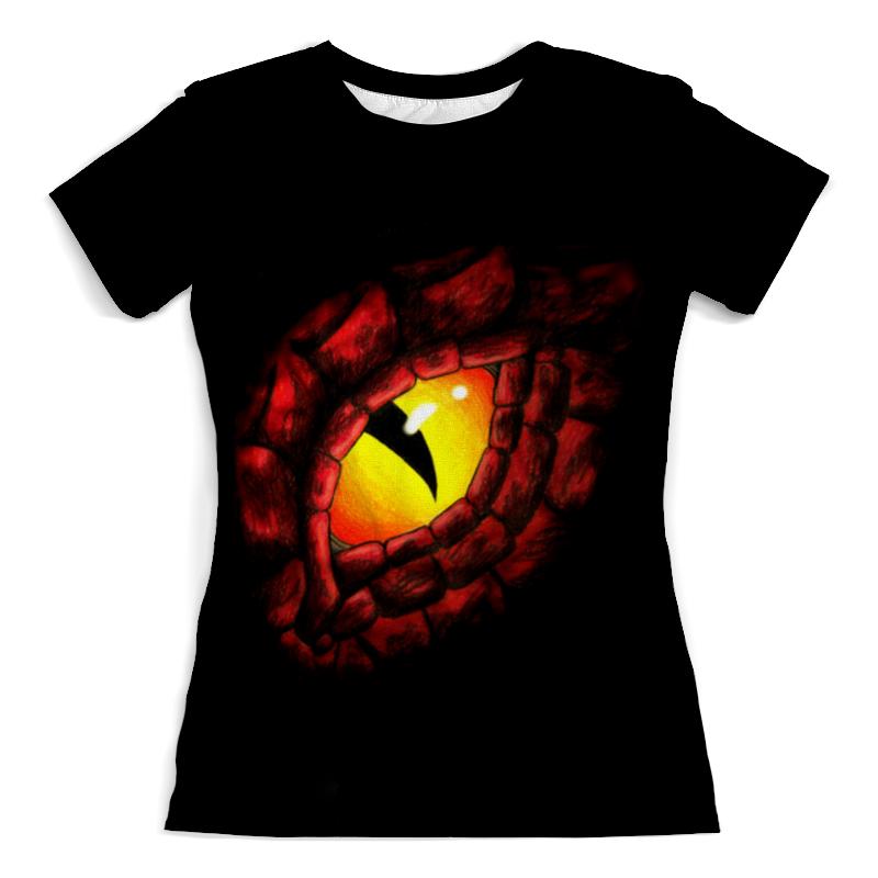 Футболка с полной запечаткой (женская) Printio Глаз дракона борис бабкин глаз дракона