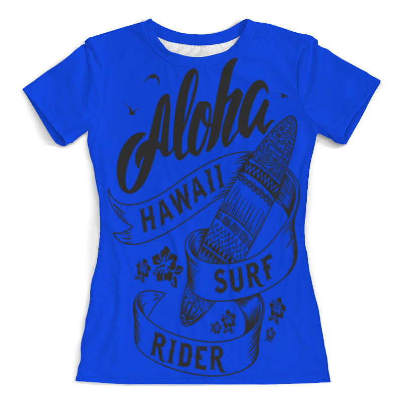 Printio Aloha футболка с полной запечаткой женская printio aloha hawaii