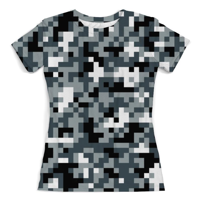 Футболка с полной запечаткой (женская) Printio Urban camouflage