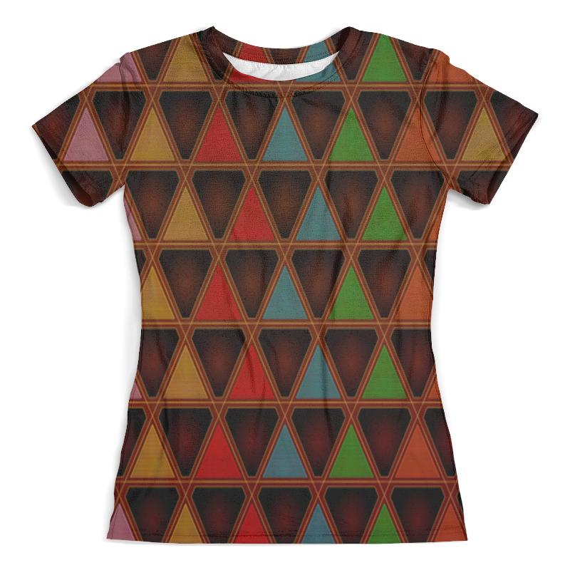 Футболка с полной запечаткой (женская) Printio Triangle style футболка с полной запечаткой женская printio colorfull triangle