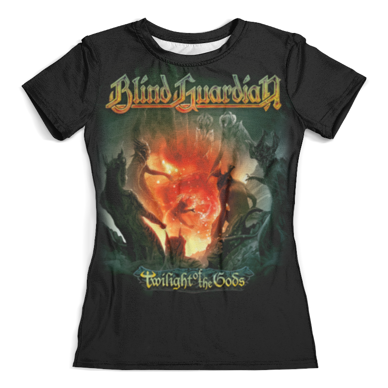 Футболка с полной запечаткой (женская) Printio Blind guardian blind guardian blind guardian beyond the red mirror