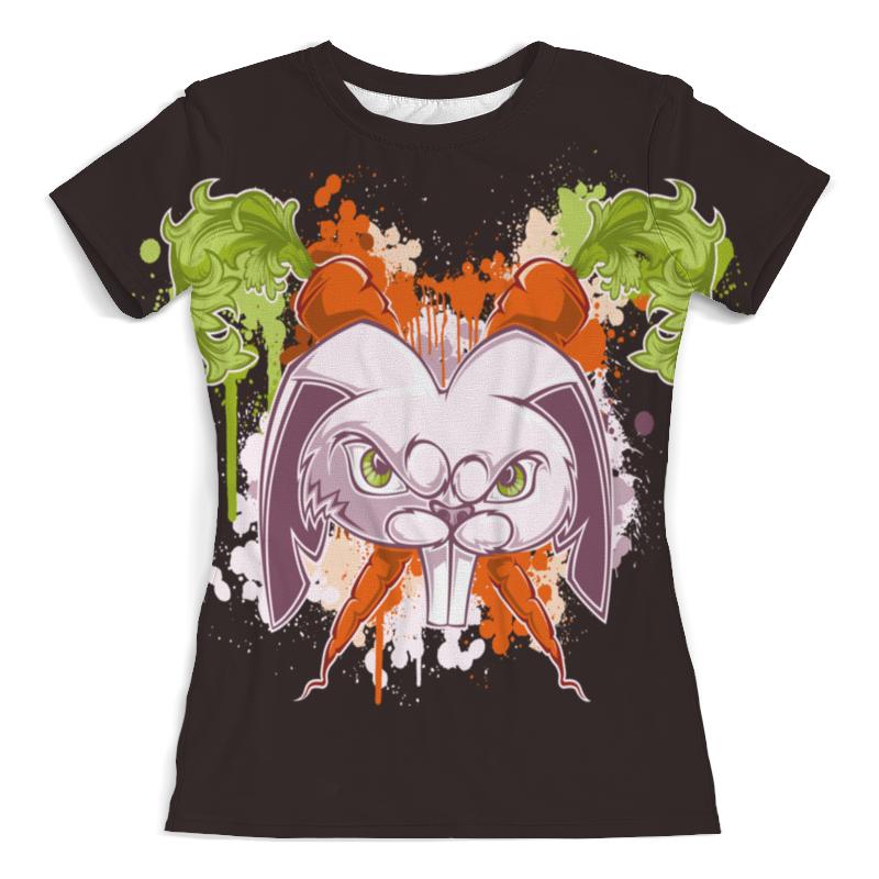 Printio Злой кролик футболка с полной запечаткой для мальчиков printio кролик