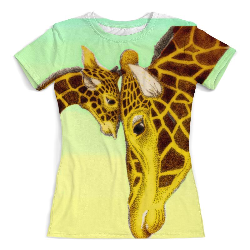Футболка с полной запечаткой (женская) Printio Жирафы (1) футболка с полной запечаткой женская printio жирафы 1