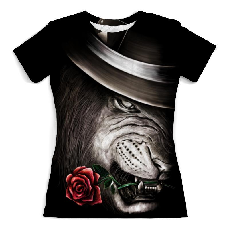 Printio Лев и роза цена