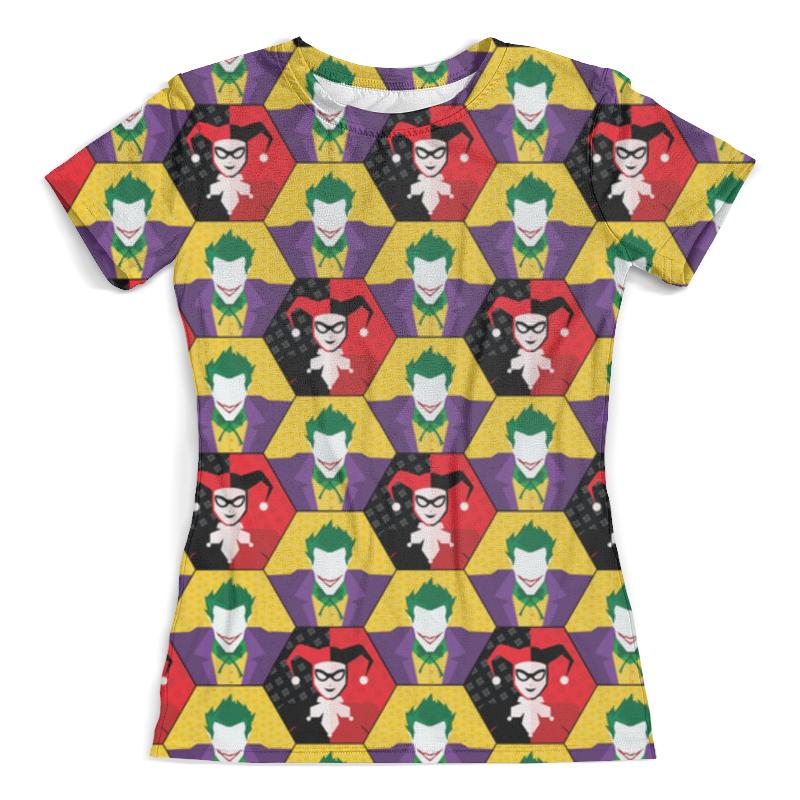 Футболка с полной запечаткой (женская) Printio Harley quinn & the joker футболка с полной запечаткой женская printio harley quinn