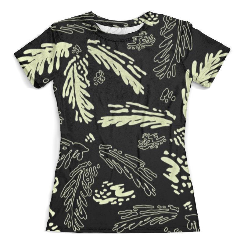 Футболка с полной запечаткой (женская) Printio Leaf pattern футболка с полной запечаткой женская printio nano pattern