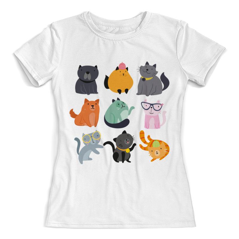 Фото - Printio Цветные кошки футболка с полной запечаткой женская printio чёрные кошки