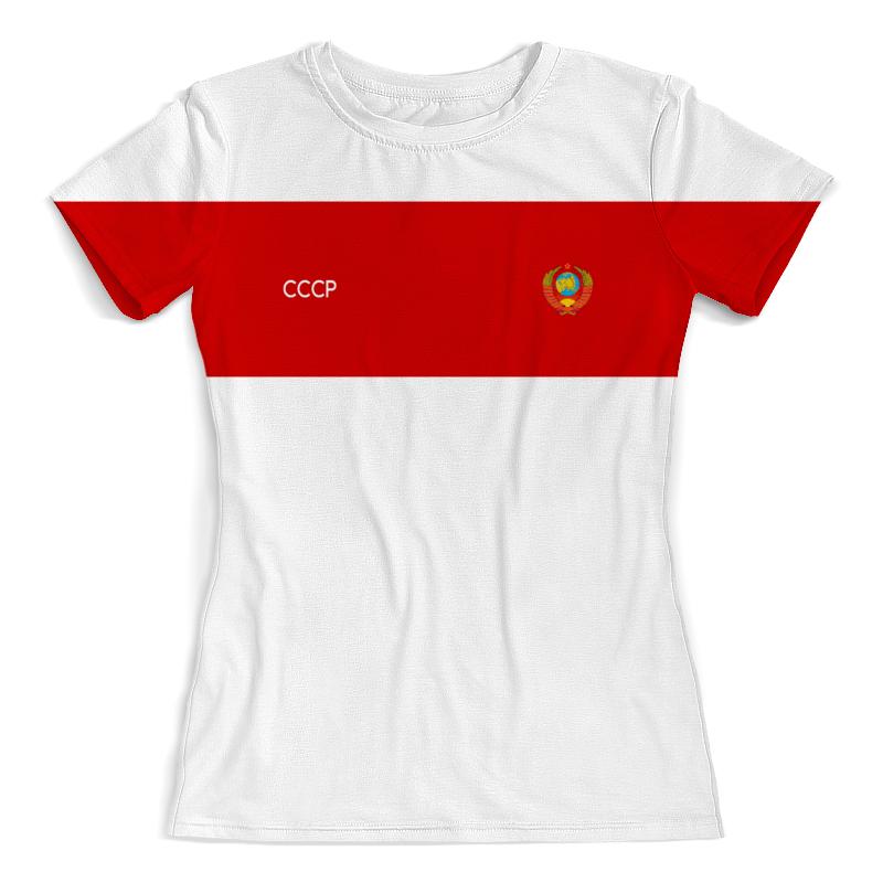 Printio Ссср | советский союз футболка с полной запечаткой женская printio ссср советский союз
