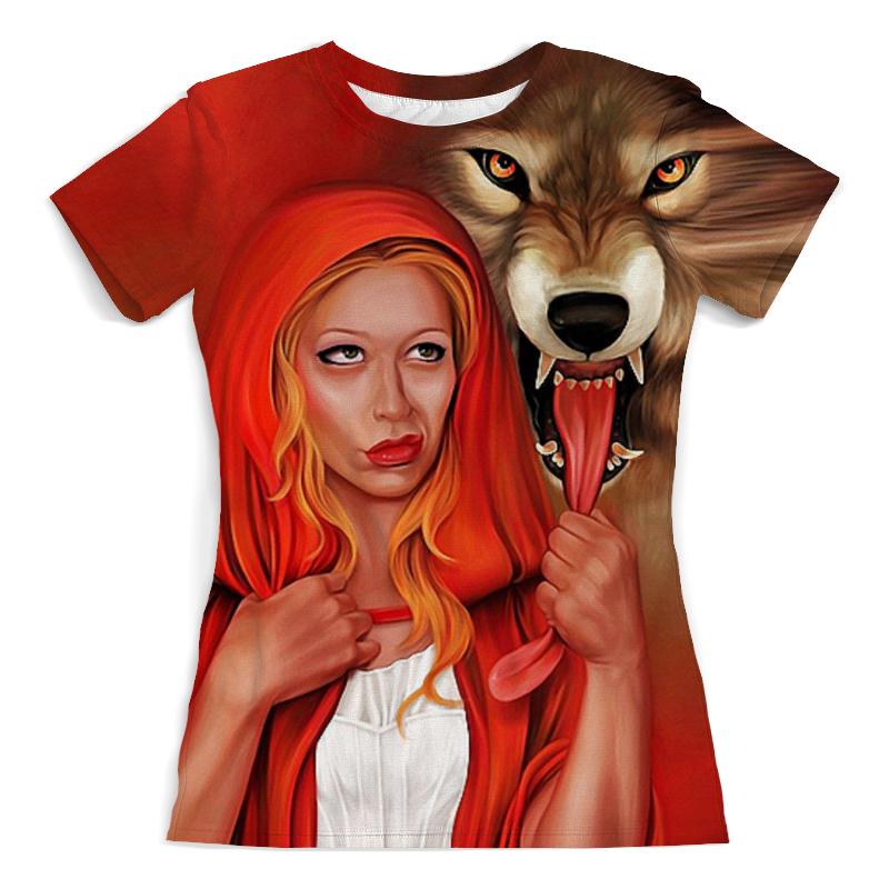 Printio Красная шапочка и серый волк (1) футболка с полной запечаткой мужская printio красная шапочка и серый волк