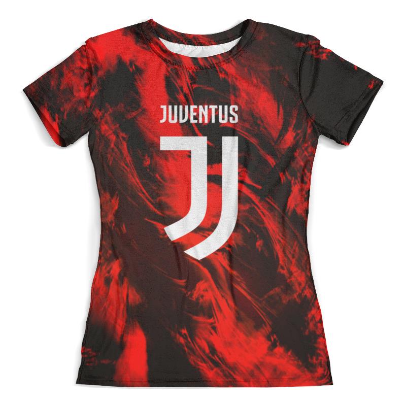 Футболка с полной запечаткой (женская) Printio Ювентус футболка ювентус