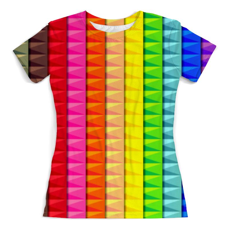 Printio Радужные полосы футболка с полной запечаткой мужская printio радужные полосы