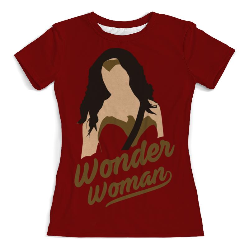 Printio Чудо-женщина футболка с полной запечаткой мужская printio чудо женщина оставь их мне