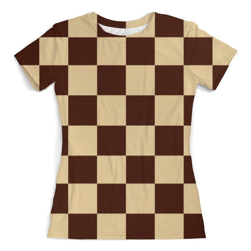 Футболка с полной запечаткой (женская) Printio В клетку футболка с полной запечаткой мужская printio в клетку