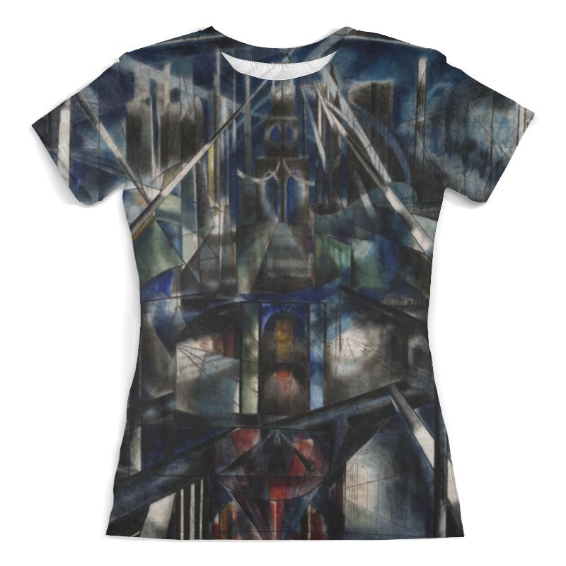 Футболка с полной запечаткой (женская) Printio Бруклинский мост (джозеф стелла) футболка с полной запечаткой женская printio битва огней кони айленд джозеф стелла