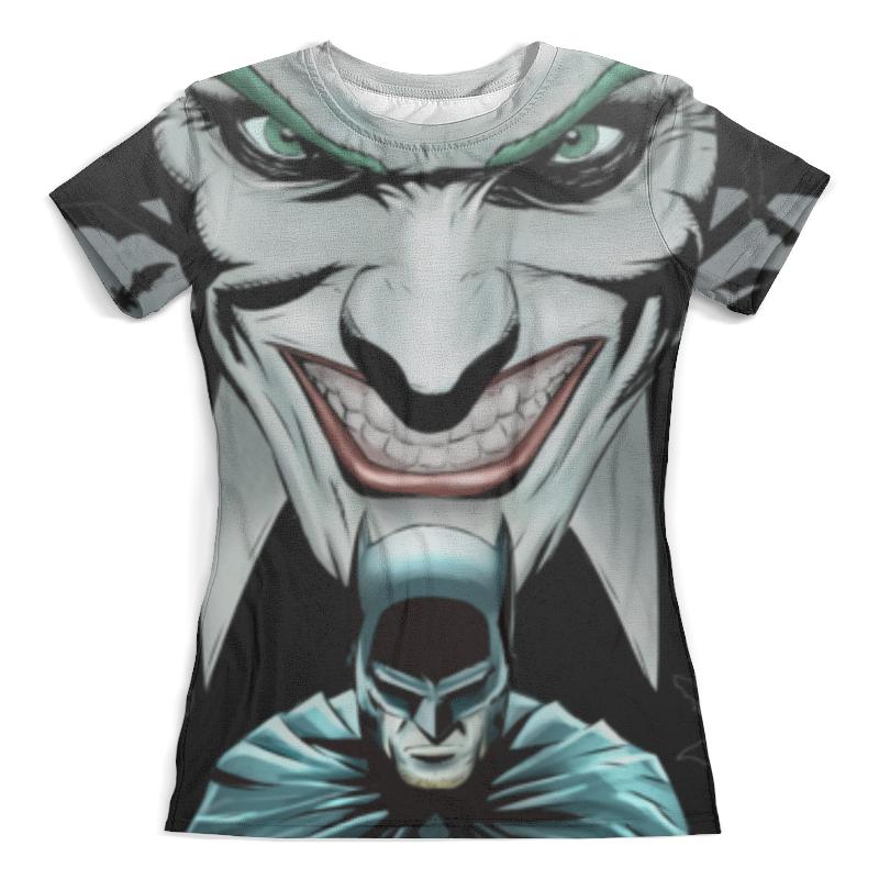Футболка с полной запечаткой (женская) Printio Бэтмен / batman футболка с полной запечаткой для девочек printio batman x joker бэтмен