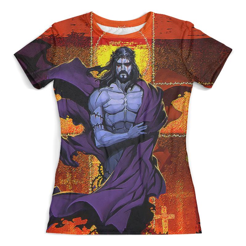 Футболка с полной запечаткой (женская) Printio Иисус христос футболка с полной запечаткой для мальчиков printio иисус христос
