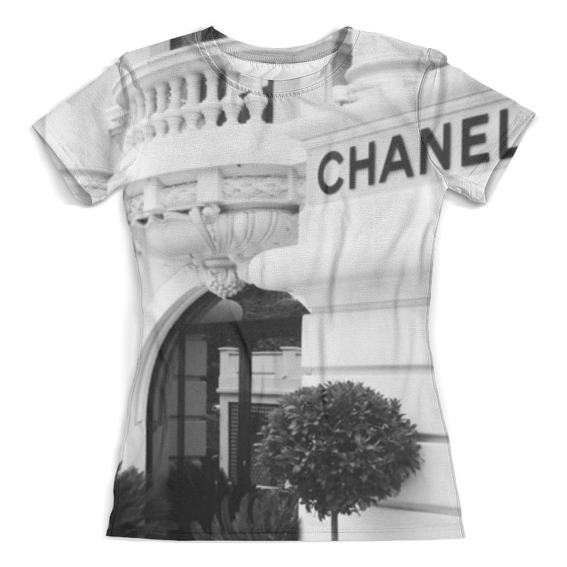 Футболка с полной запечаткой (женская) Printio Chanеl футболка женская белая