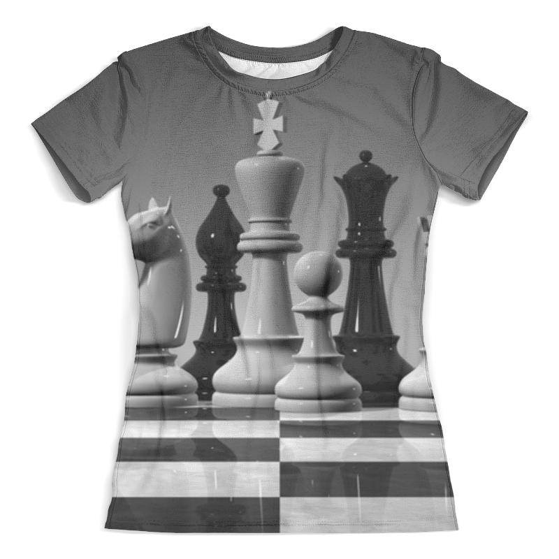 Футболка с полной запечаткой (женская) Printio Шахматы футболка шахматы