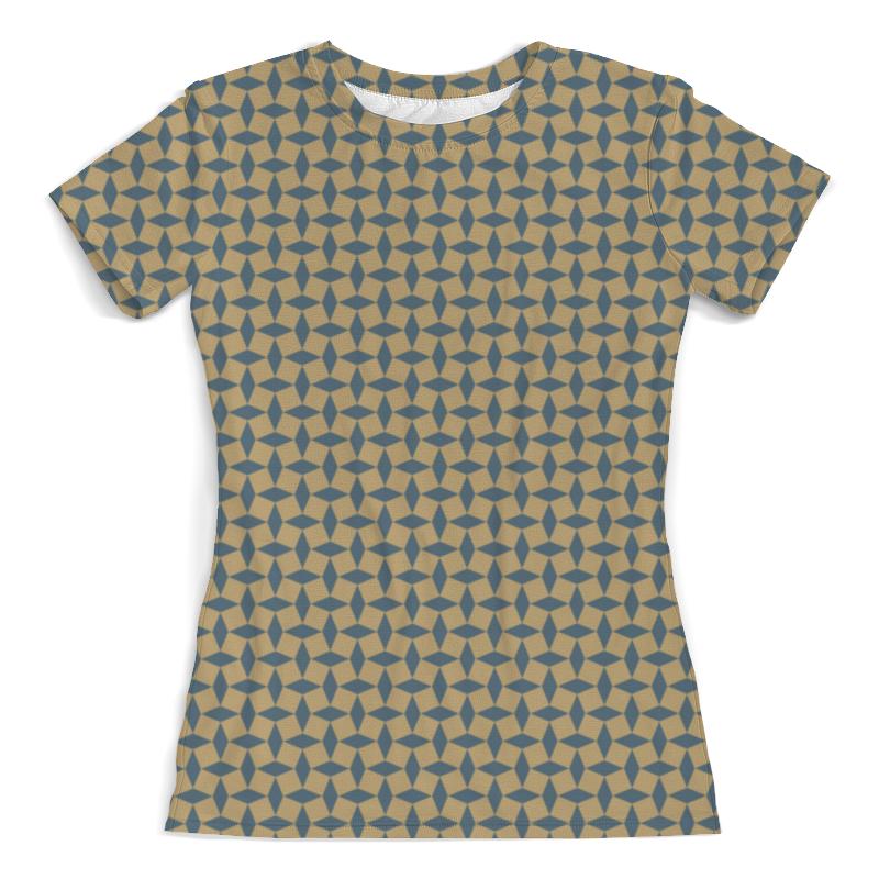 Футболка с полной запечаткой (женская) Printio Геометрический орнамент футболка с полной запечаткой для мальчиков printio геометрический орнамент